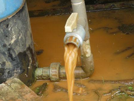 xử lý nước giếng khoan gia đình.